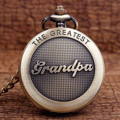 Vintage kapesní hodinky pro nejlepšího dědečka