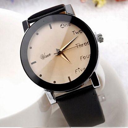 Náramkové hodinky s kombinovaným ciferníkem