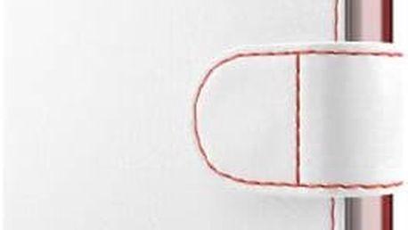 Pouzdro na mobil flipové FIXED FIT pro Huawei Y5 II (FIXFIT-099-WH) bílé