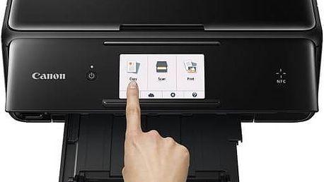 Tiskárna multifunkční Canon PIXMA TS8050 (1369C006AA) černá + Kabel za zvýhodněnou cenu + Doprava zdarma