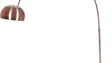 Měděná volně stojací lampa J-Line - doprava zdarma!