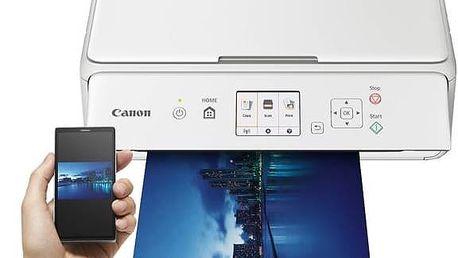 Tiskárna multifunkční Canon PIXMA TS5051 (1367C026AA) bílá + Kabel za zvýhodněnou cenu