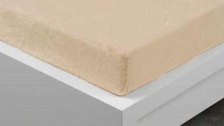 XPOSE ® Prostěradlo mikroflanel Exclusive dvoulůžko - bílá káva 180x200 cm