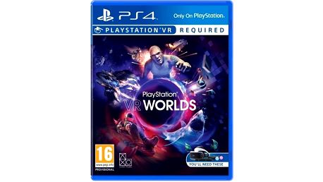 Hra Sony PlayStation VR Worlds (PS4) (PS719854555 )