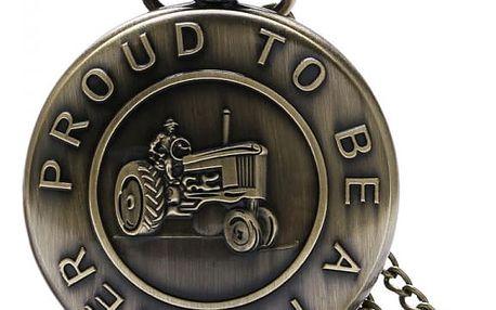 Vintage kapesní hodinky pro farmáře a zemědělce