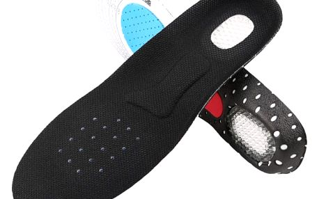 Gelové zdravotní vložky do bot