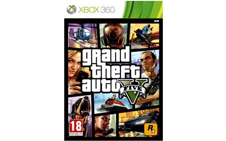 Hra RockStar Grand Theft Auto V (427544)
