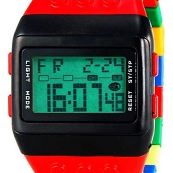 Náramkové hodinky pro milovníky stavebnic