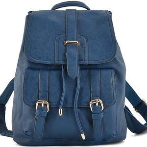 Dámský modrý batoh Jorga 5047