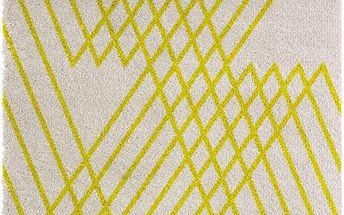 Žlutý koberec Chiffon, 160x230cm - doprava zdarma!