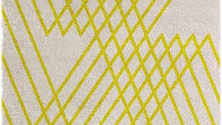 Žlutý koberec Chiffon, 80x150cm - doprava zdarma!