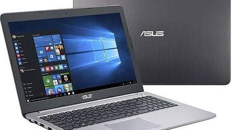 Notebook Asus K501UX-DM198T (K501UX-DM198T) šedý + Tiskárna multifunkční Canon PIXMA MG5752 A4, 12str./min, 9str./min, duplex, WF, USB - černá/stříbrná v hodnotě 1 890 KčSoftware F-Secure SAFE 6 měsíců pro 3 zařízení (zdarma) + Doprava zdarma
