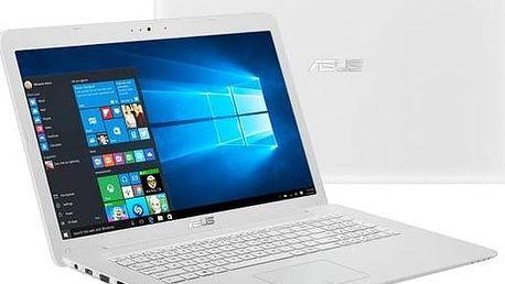 Notebook Asus F756UB-T4025T (F756UB-T4025T) bílý Software F-Secure SAFE 6 měsíců pro 3 zařízení (zdarma) + Doprava zdarma