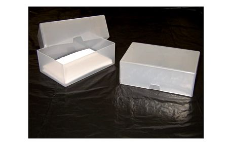 Plastová krabička na vizitky