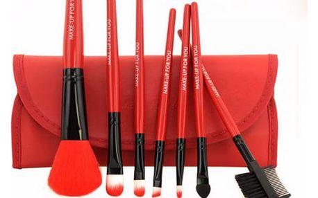 Kosmetické štětce pro profesionální použití - 5 barev