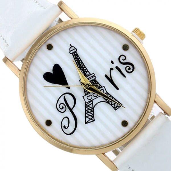 Náramkové hodinky pro milovnice Paříže