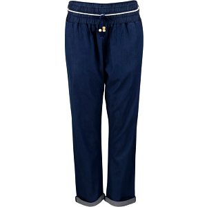 Tmavě modré volnější kalhoty Horsefeathers Super Summer