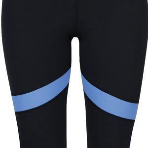 Modro-černé dámské sportovní legíny Under Armour Coolswitch Capri