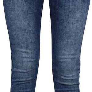 Modré dámské slim fit džíny s nízkým pasem Pepe Jeans Ripple