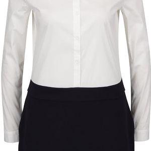 Černo-krémové šaty French Connection Bernice Jersey