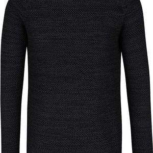 Černý žíhaný svetr Blend