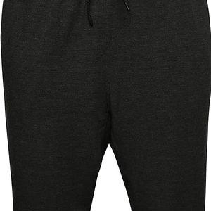 Černé pánské teplákové kraťasy Nike Dry