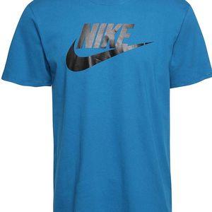 Tyrkysové pánské triko Nike Futura Icon