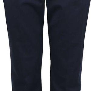 Tmavě modré osminkové formální kalhoty Dorothy Perkins