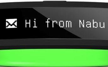 NABU 2015 Smart Band, velikost S/M, černo-zelený (black green)