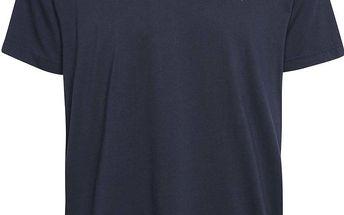 Tmavě modré pánské triko s logem GANT