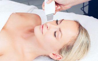 30minutové hloubkové čištění pleti ultrazvukem
