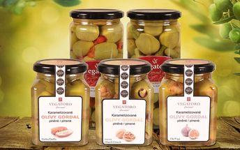 Nakládané obří olivy Vegatoro