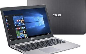 Notebook Asus K501UX-DM198T (K501UX-DM198T) šedý