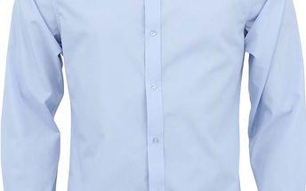 Světle modrá košile Bertoni Slim Fit
