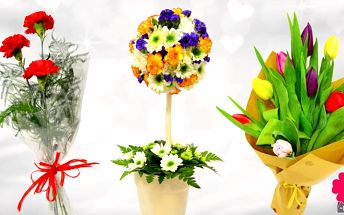Květiny k oslavě MDŽ pro pamětníky i rebely