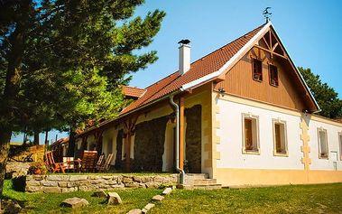 3–5denní pobyt se snídaněmi nebo polopenzí v penzionu Andělský Dvůr na jihu Čech pro 2