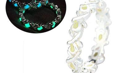 Prsten svítící ve tmě - několik variant