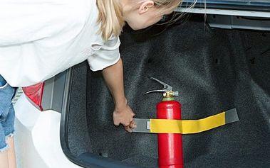 Elastický pás na suchý zip do kufru auta