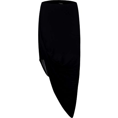Černá asymetrická sukně Bench Broken Heart