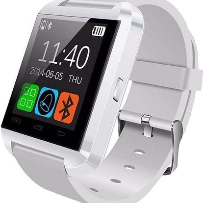 U Watch U8 SmartWatch, bílá