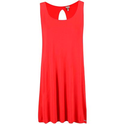 Červené šaty s výstřihem na zádech Bench Restore