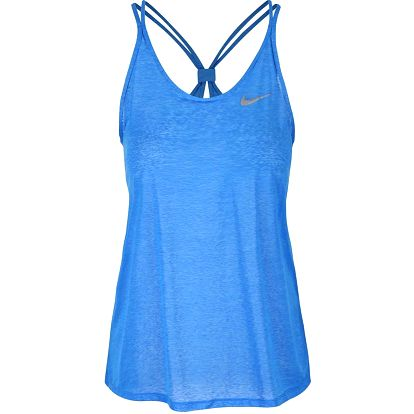 Modré dámské tílko Nike Dri-Fit Cool