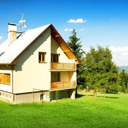 3–5denní pobyt pro 2 osoby v Chatě Meduňka v Bílých Karpatech