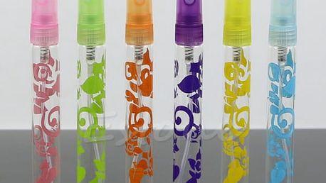 Prázdná lahvička na parfém - 6ks