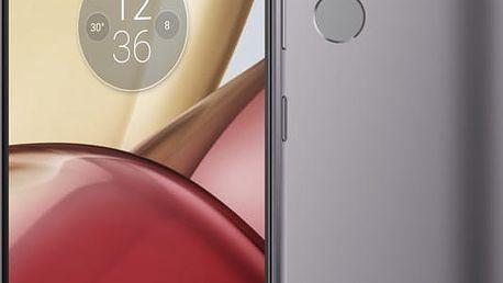 Lenovo Moto M - 32GB, LTE, DualSim, šedá - PA5D0076CZ