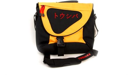 """TOSHIBA brašna na notebook do 15,6"""" oranžová"""
