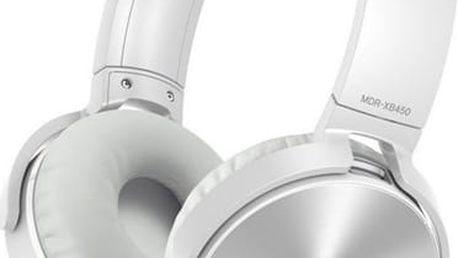 Sony MDR-XB450A Bílá