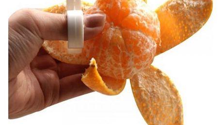 Struhadlo na prst pro snadné oloupání ovoce - 3 ks