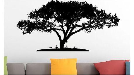 Samolepka na zeď - Košatý strom