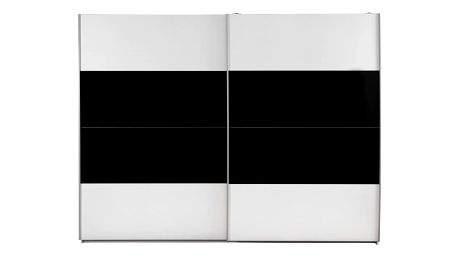 Skříň s posuvnými dveřmi milano, 270/225/62 cm